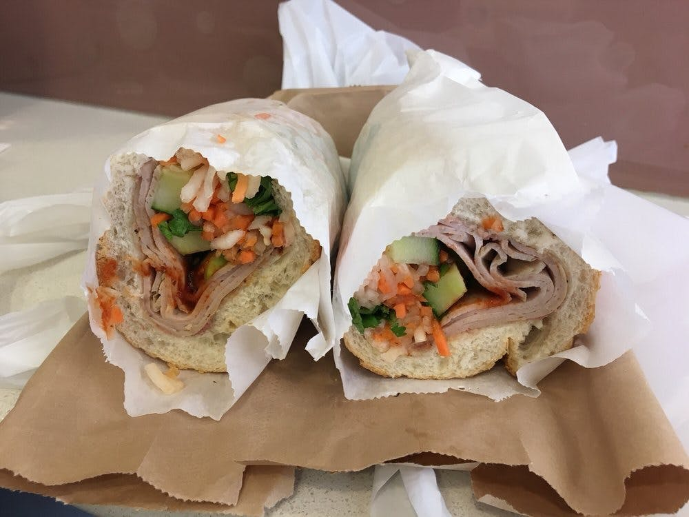 Bánh Mì Saigon Banh Mi Sandwich