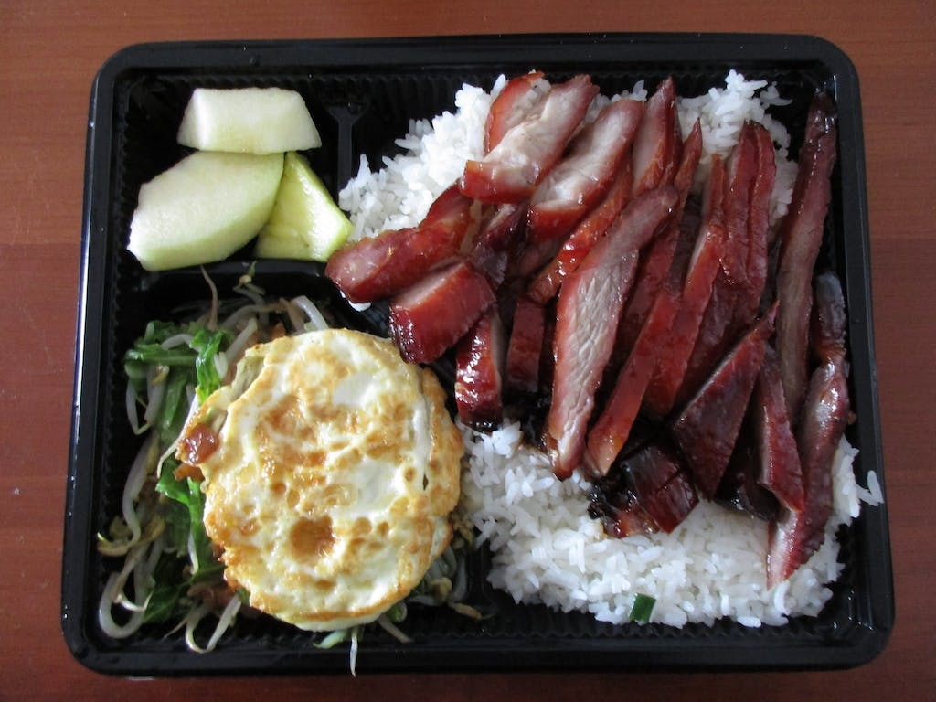 Deluxe Food Market Char Siu Over Rice