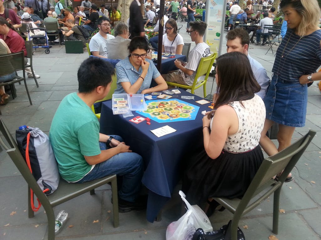 Bryant Park Catan Tournament