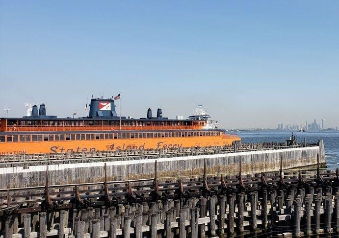 Staten Island Ferry St George Terminal