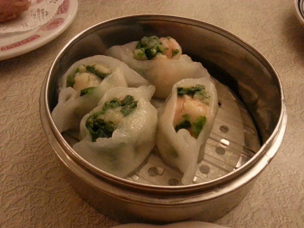 Nom Wah Shrimp & Snow Pea Leaf Dumpling