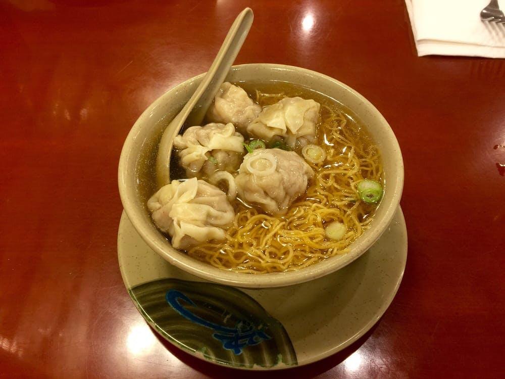 Wonton Noodle Soup HK Wonton Garden