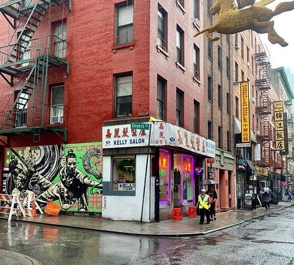 Rainy Chinatown