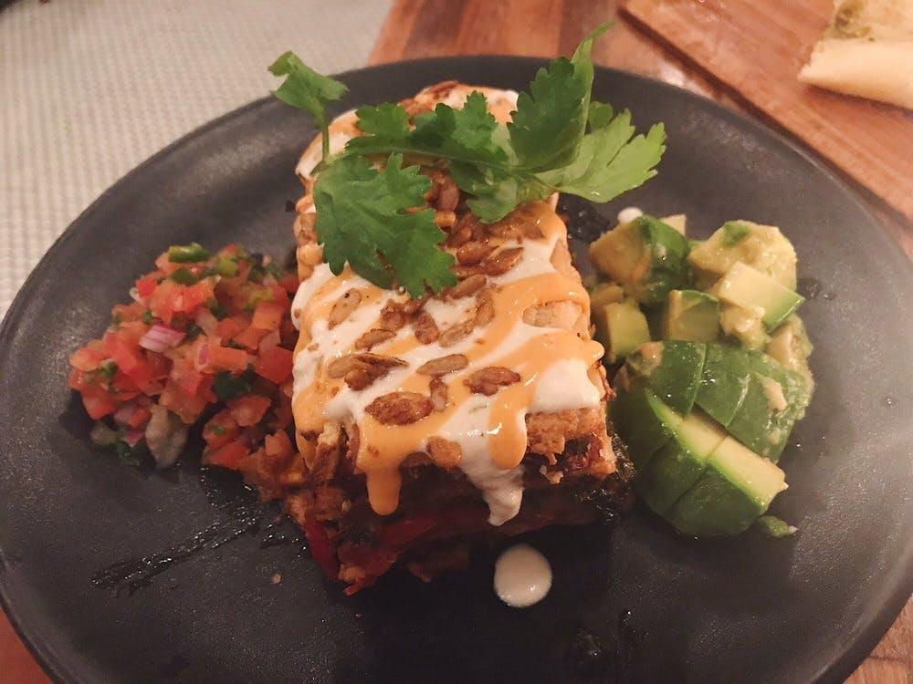 Petisco Vegano Enchilada