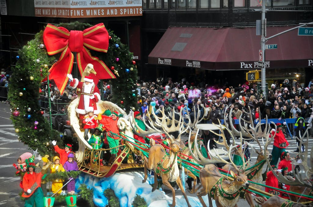 Macys Thanksgiving Parade Santa Claus