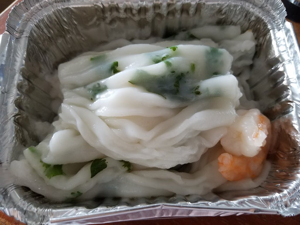Go Believe Bakery Shrimp Rice Noodle Roll