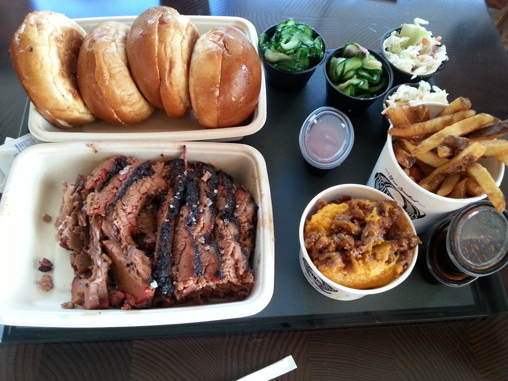 Mighty Quinn's Barbeque Dinner