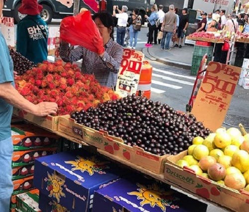 Chinatown Fruit Stands