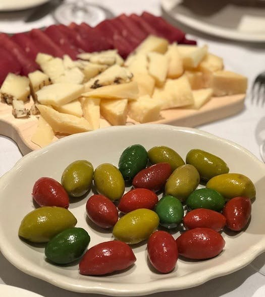 Cheese and Olives Italian Feast