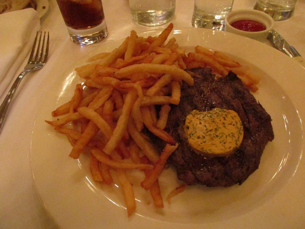 Augustine steak frites