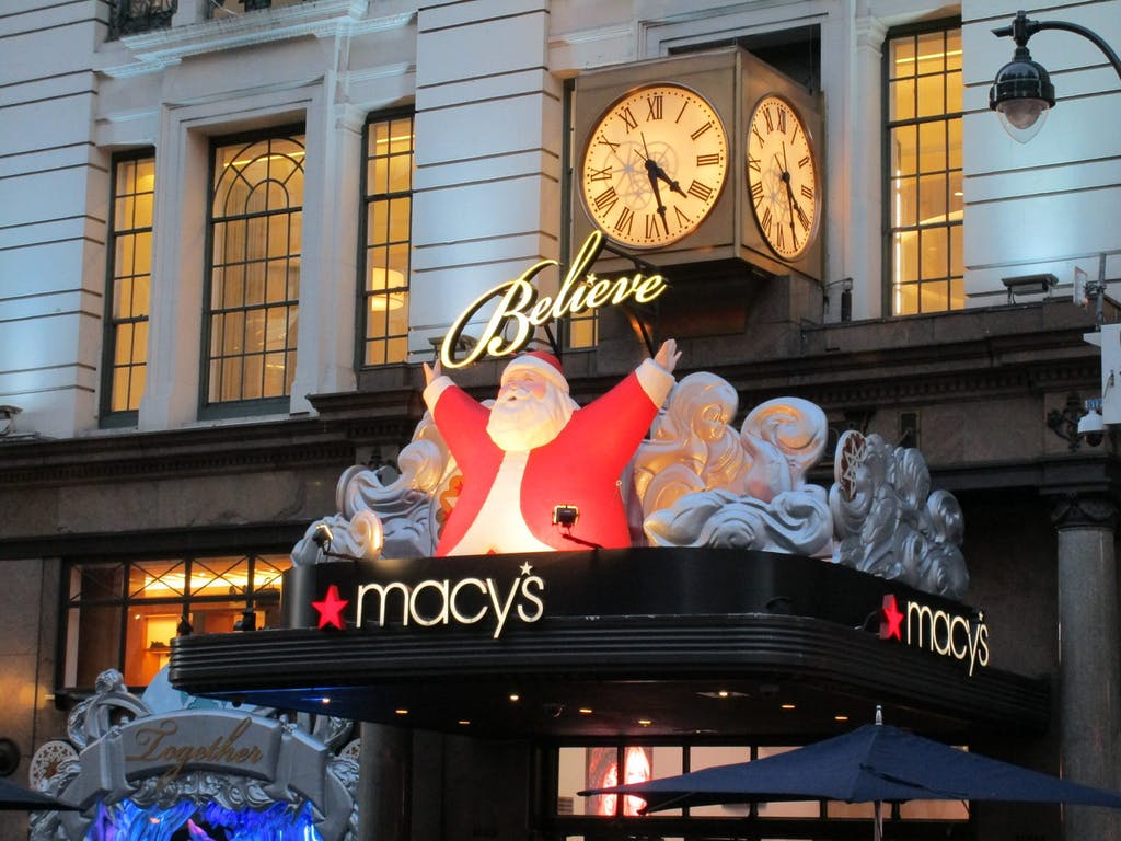 Macy's Flagship Store Holidays