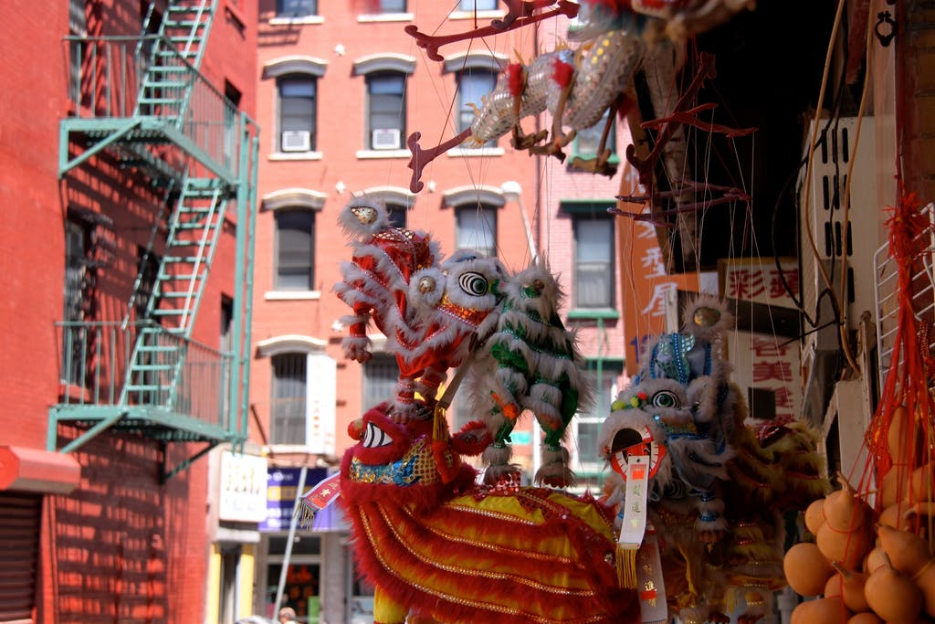 Chinatown Souvenir Lions