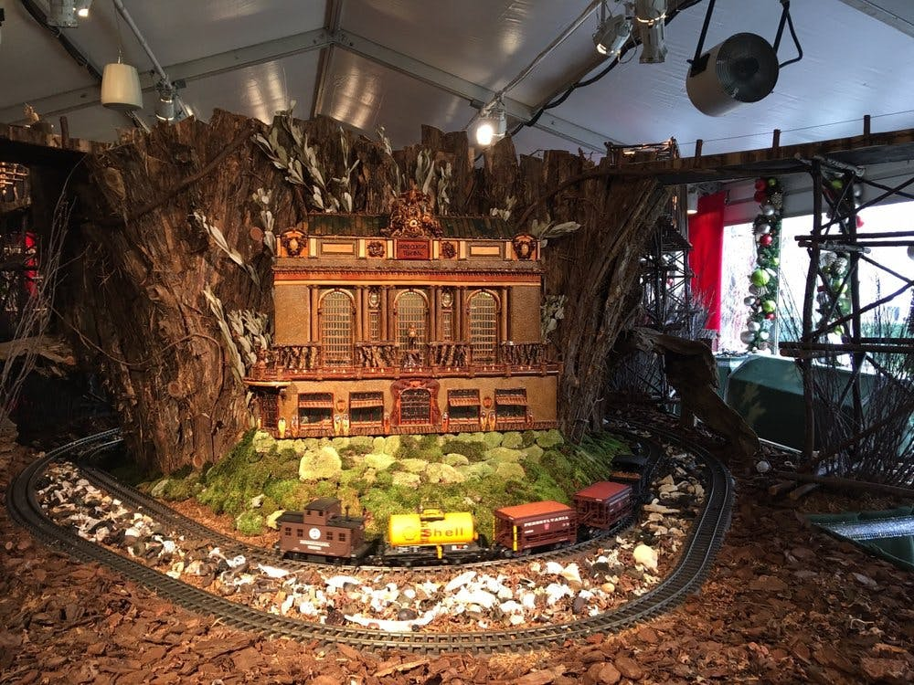 New York Botanical Garden's Holiday Train Show