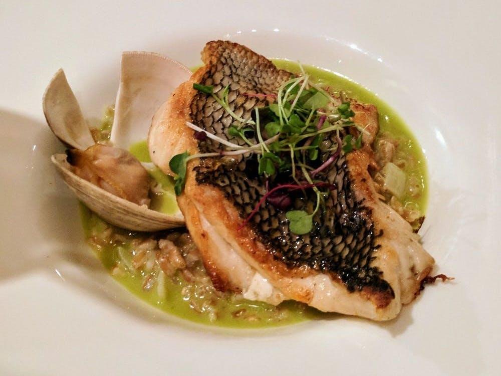 Kellari Taverna Striped Bass