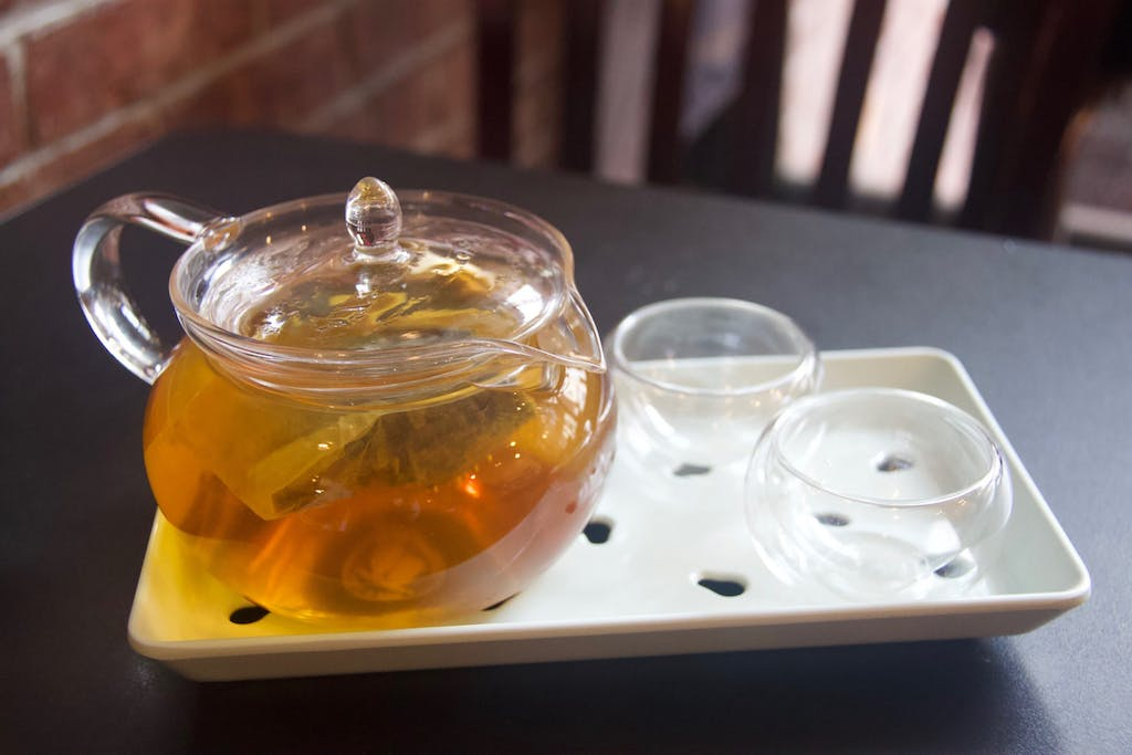 Silk Road Cafe Chinese Hot Tea