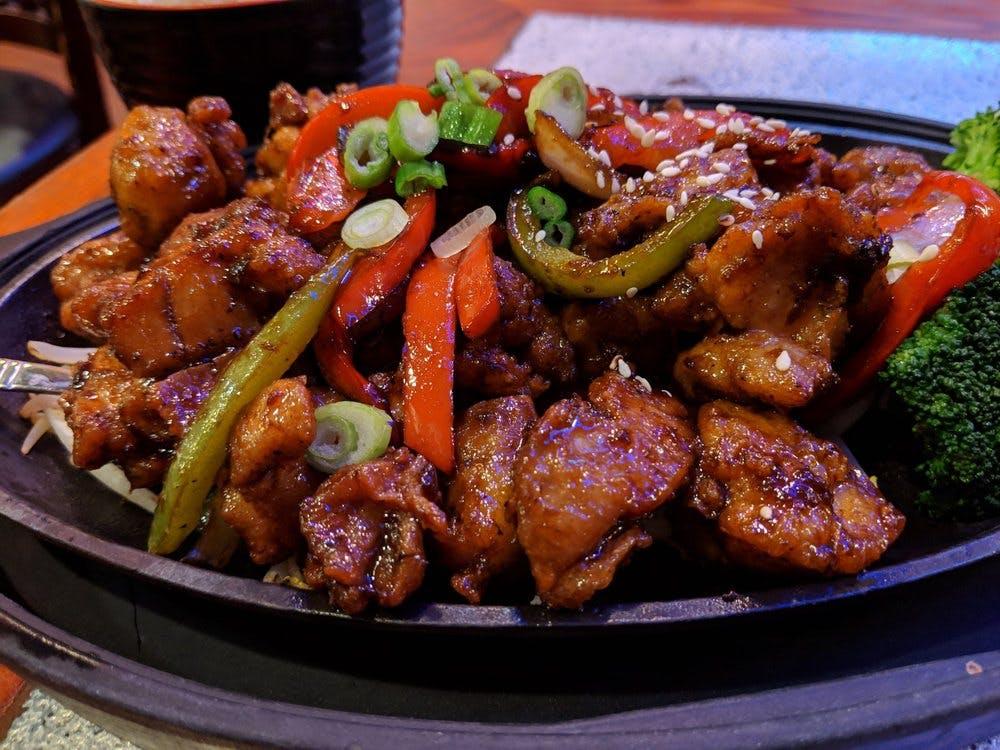 XO Taste Sizzling Chicken Platter