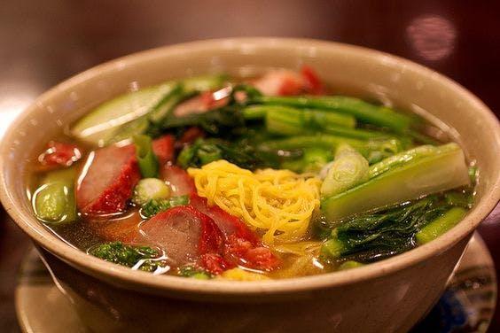 Roast Pork Wonton Noodle Soup HK Wonton Garden