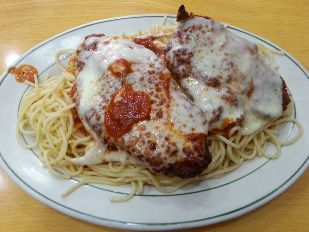 Two Bridges Diner Chicken Parm