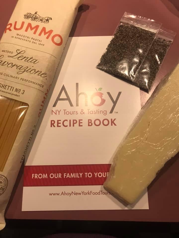 Ahoy NY A Taste of Little Italy Meal Kit