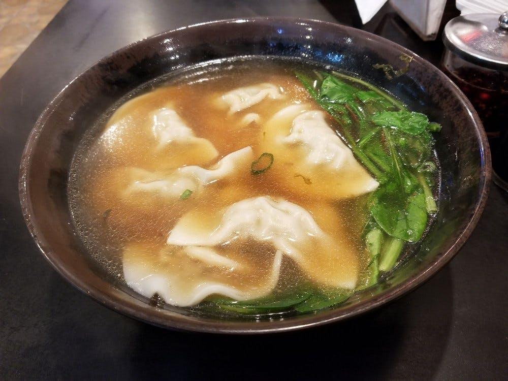Noodle Q Pork Dumpling Noodle Soup