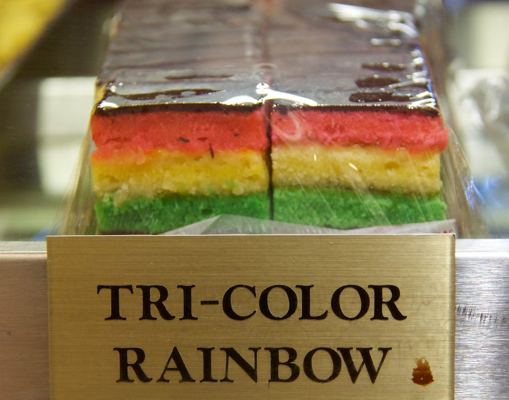 Ferrara Tri Color Rainbow Cookies
