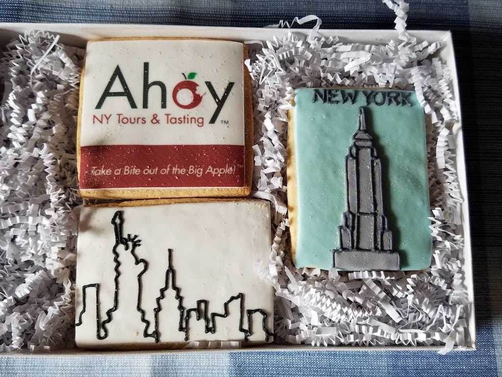 NYC Themed Cookies