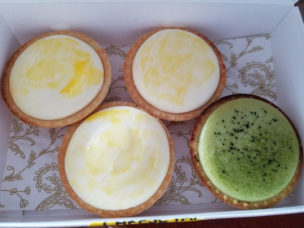 Pinklady Japanese Cheese Tart