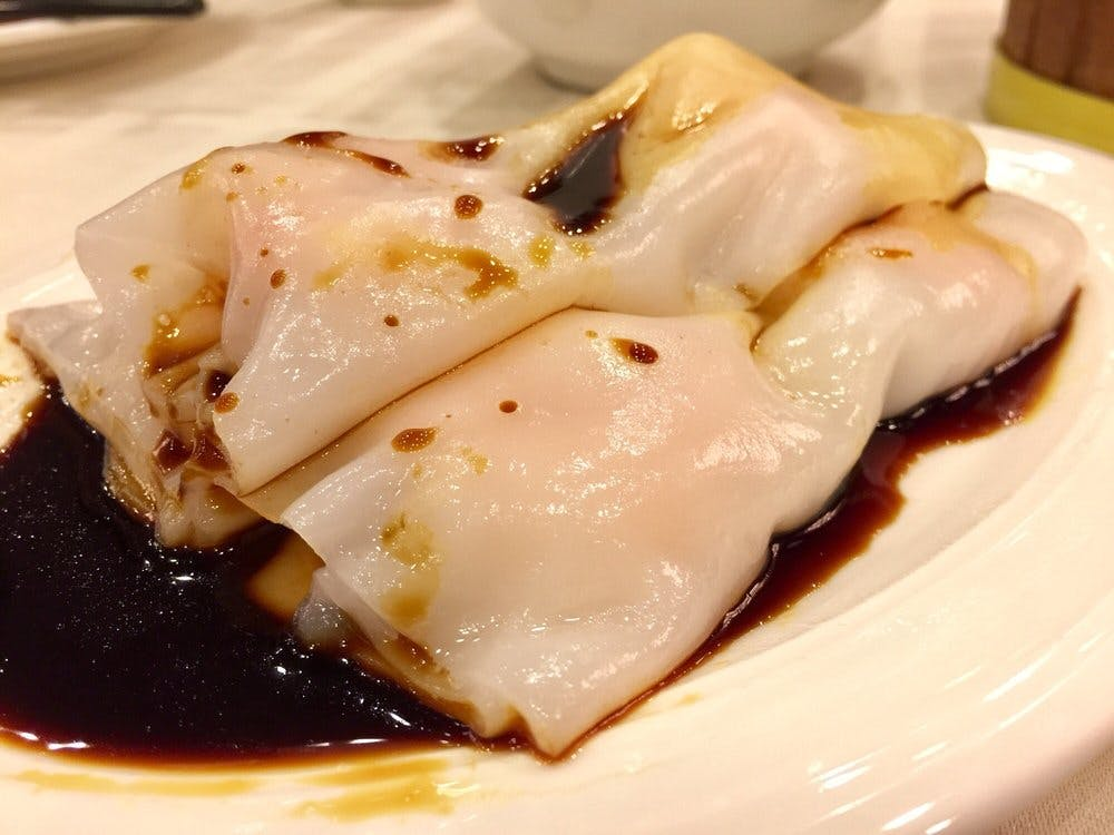 Jing Fong Shrimp Rice Noodle Roll