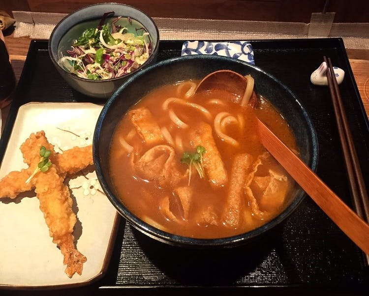 Suki Japanese Curry Tofu Udon