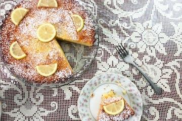 Virtual Cooking Class Lemon ricotta cake
