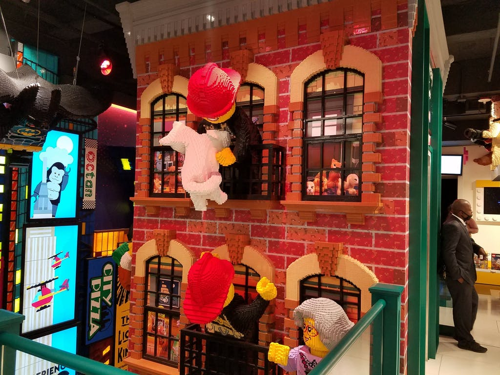 Lego NYC Store Firefighters