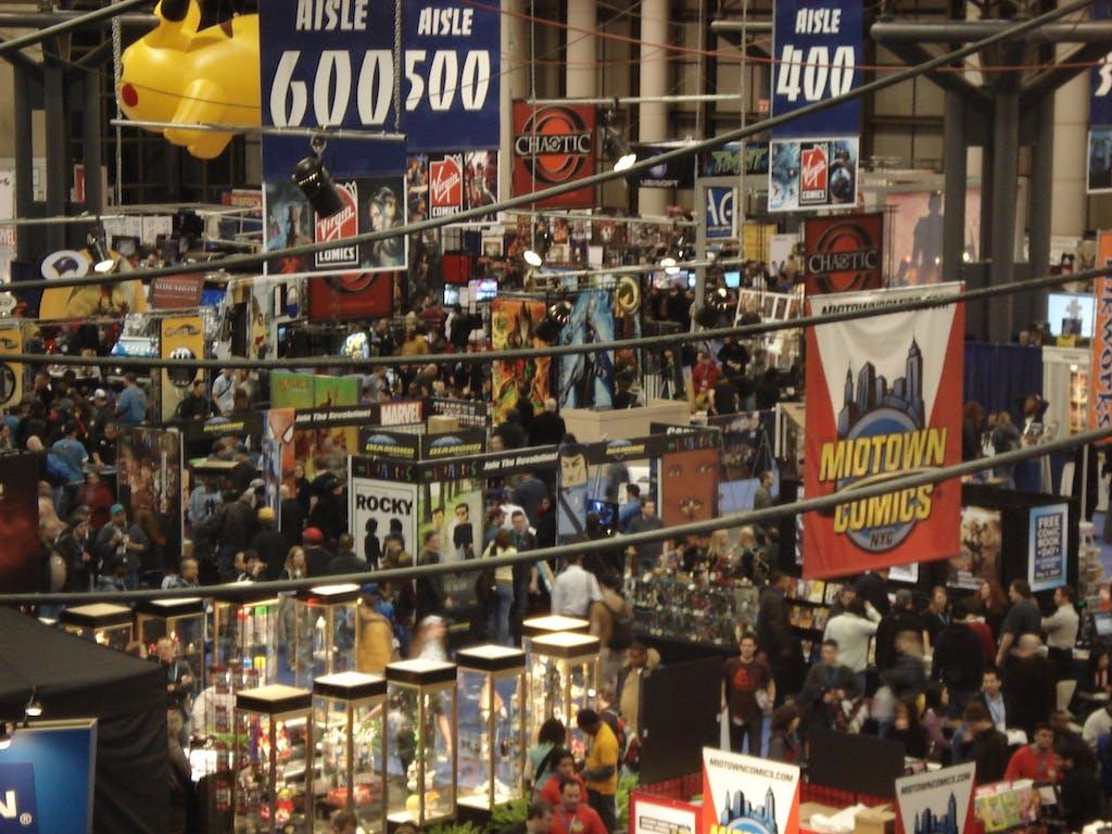 New York Comic Con 2007