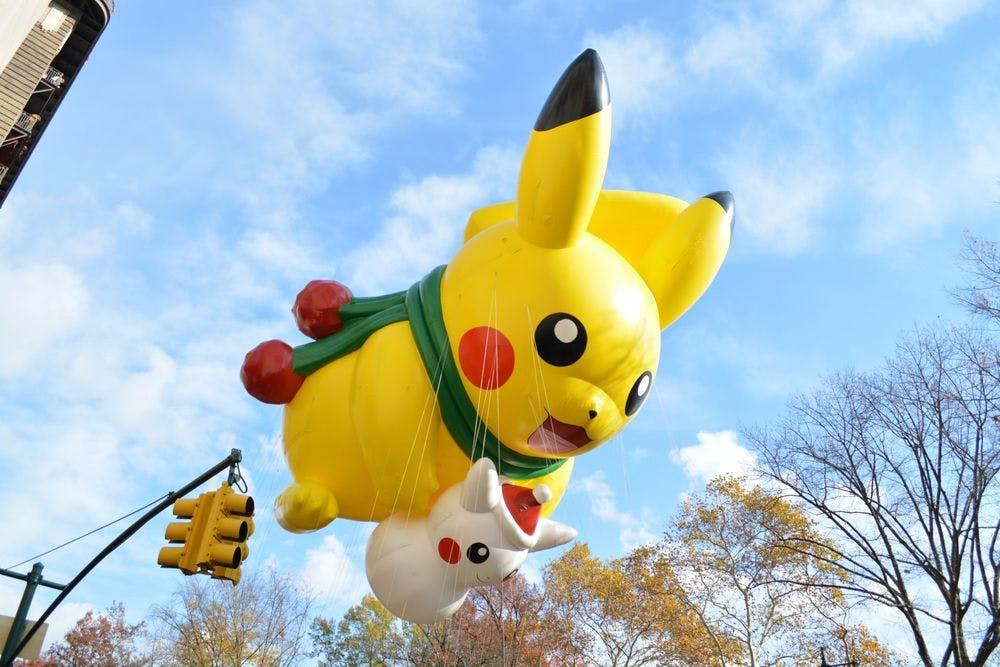 Macys Thanksgiving Parade Pikachu