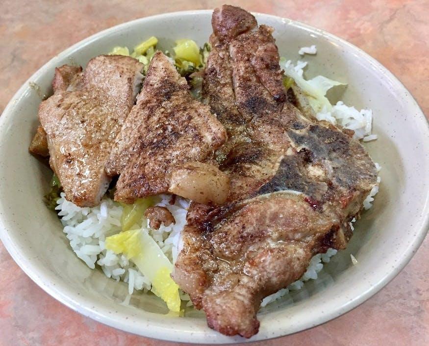 Taiwan Pork Chop House Pork Chop Over Rice