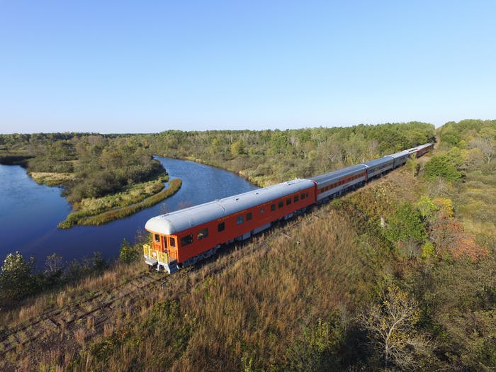 bed and breakfast train wisconsin great northern railroad