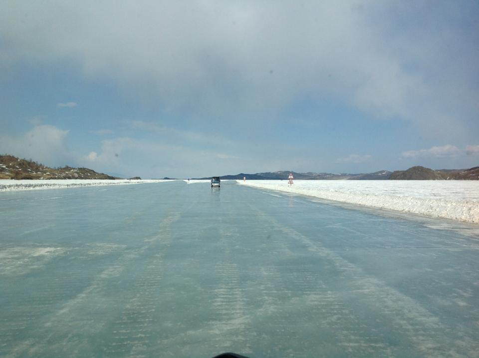 Ride on ice