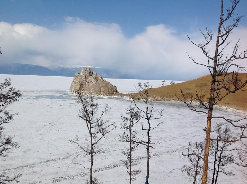 winter Baikal view explorussia