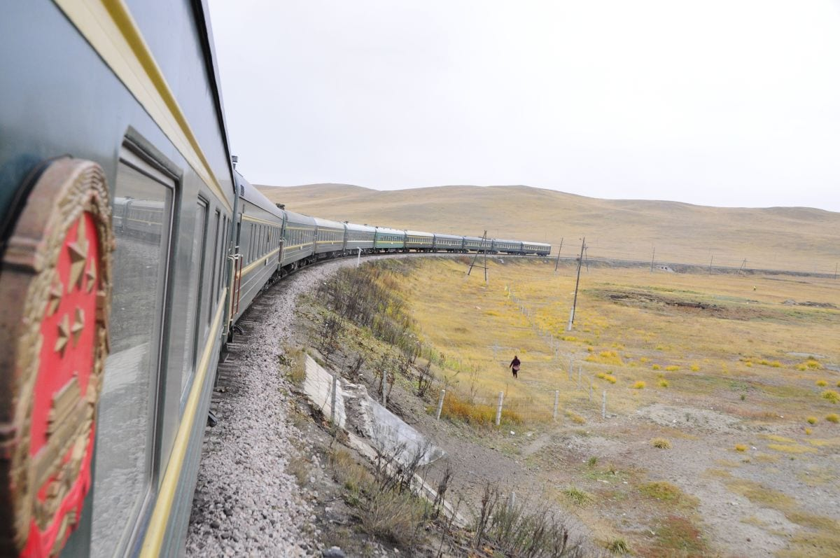 Trans-Mangolian train