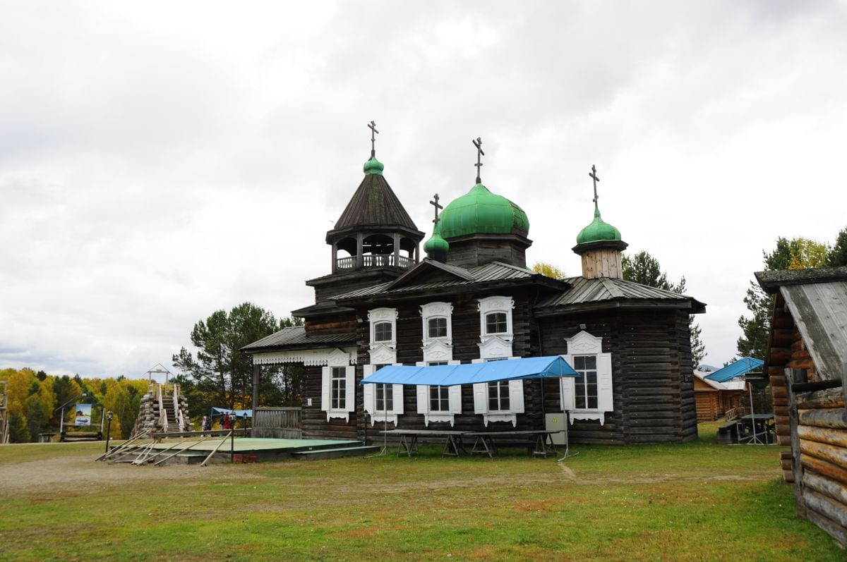 russian church in Irkutsk