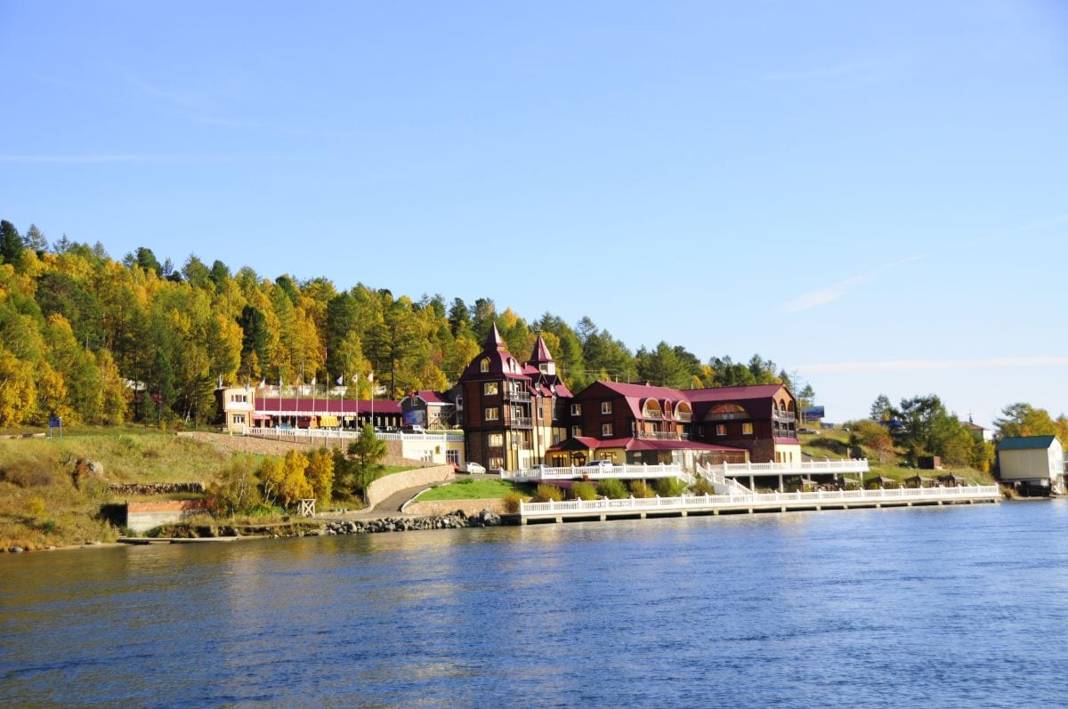 trans-siberian lake Baikal