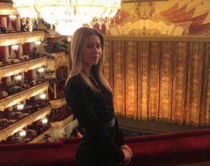 Russian ballet in Bolshoi theatre