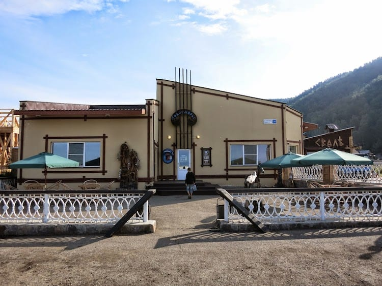Cafe on Baikal