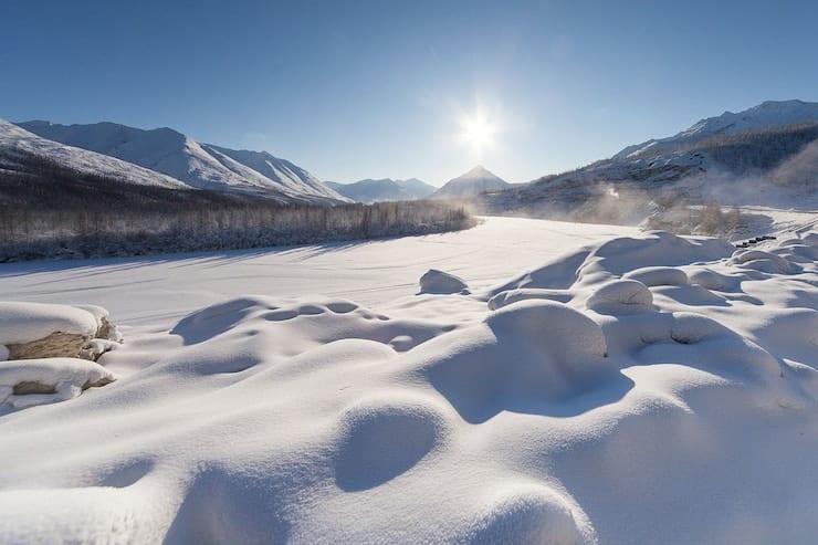 the Altai mountains in Russia Siberia