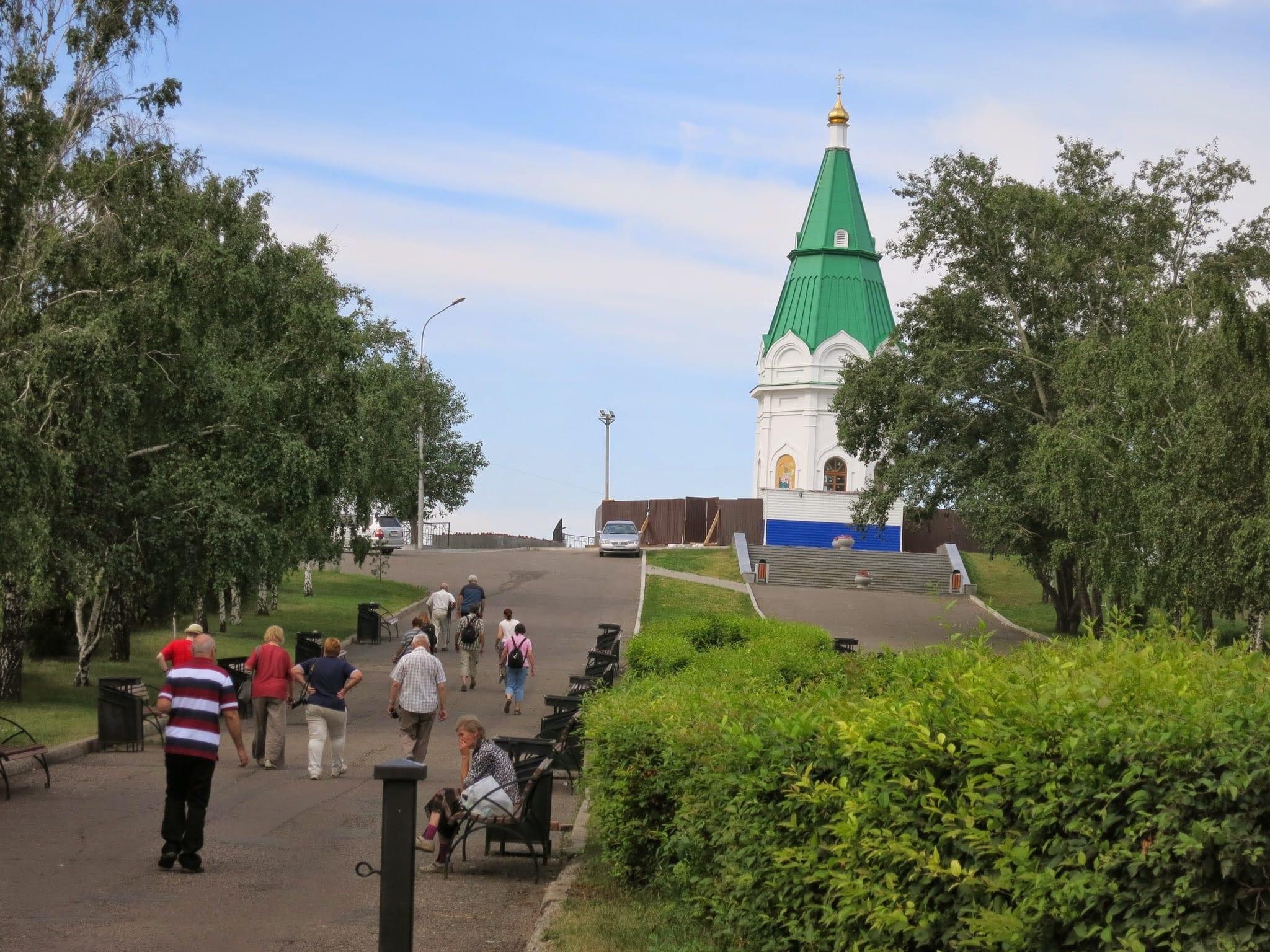 Praskeva Pyatnitsa Chapel in Krasnoyarsk Siberia
