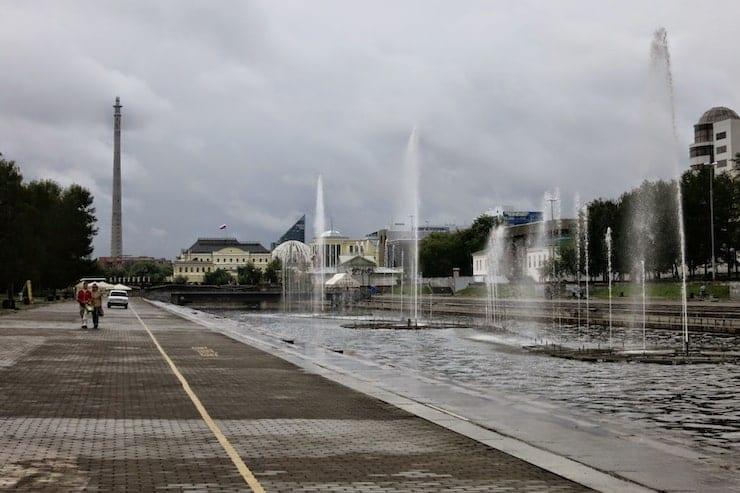 Yekaterinburg fountain