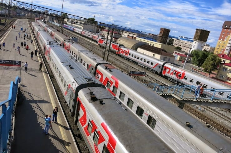 Trans-Siberian Railway trains