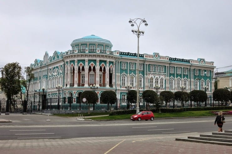 Ural architecture