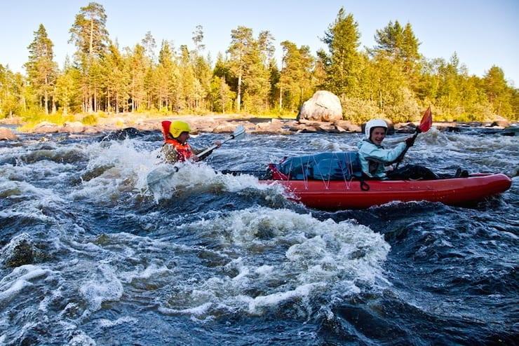 Karelian rafting