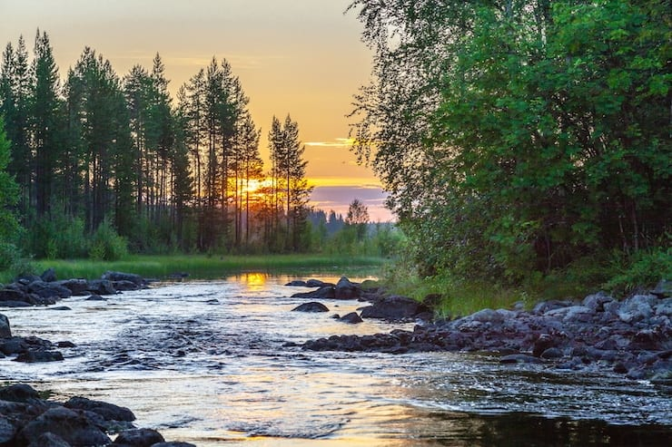 Karelian Lake