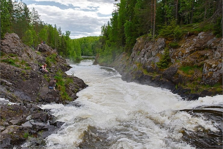 Karelia Russia river